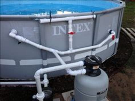 How To Plumb Above Ground Pool by 1000 Images About Pool Stuff On Intex Above Ground Pools Above Ground Pool And