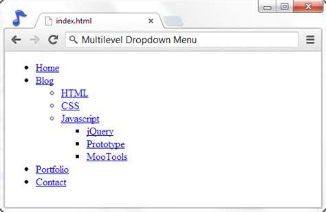 membuat menu dropdown sederhana dengan css membuat dropdown menu dengan css ariona net