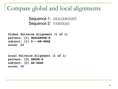 activity pattern analysis by means of sequence alignment methods ppt introduction to sequence analysis powerpoint