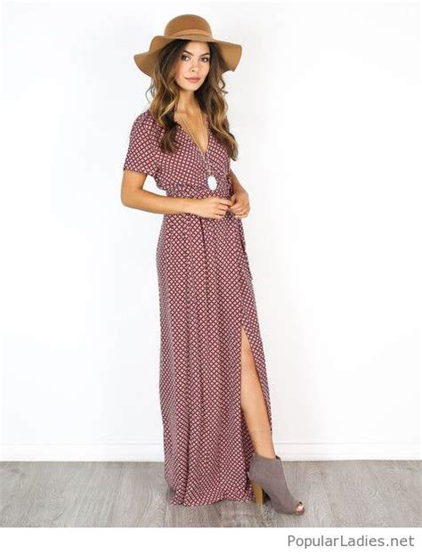 Sepatu Boot Maxi Black Pasir interesting boho look with a dress a hat and boots