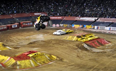 san diego monster truck just a car guy biggest air of the san diego monster jam