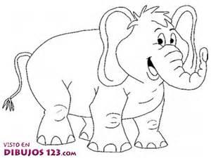 simp 225 tico elefante colorear