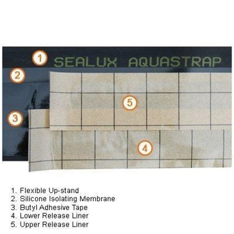 Aquastrap Shower Seal by Aquastrap Seal Shower Tray On Line All Uk