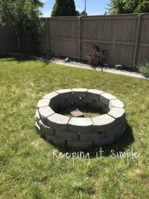 How To Use A Firepit Keeping It Simple How To Build A Diy Pit For Only 60