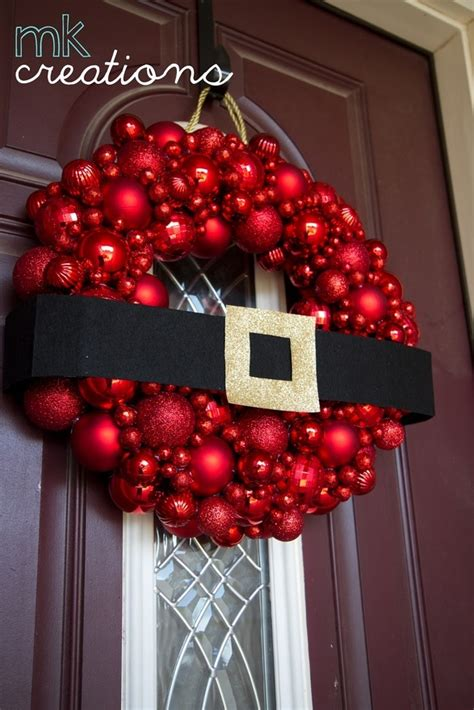 diy ornament wreath holidays