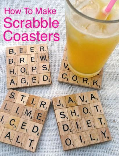 how to make scrabble how to make scrabble coasters http homestead and