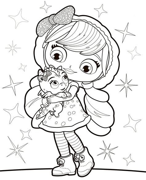 little charmers coloring pages nick jr little charmers drawing pictures
