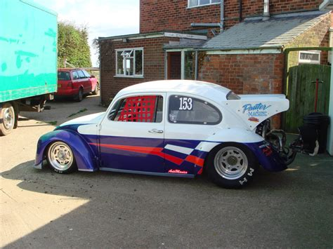 volkswagen race car vw beetle drag car