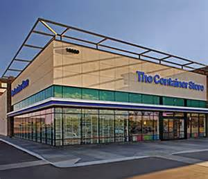 Store locations in the container store