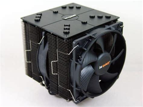 Cooler Cpu Fan Bequet Rock Pro3 Dual Fan be rock pro 2 dual tower cpu cooler review