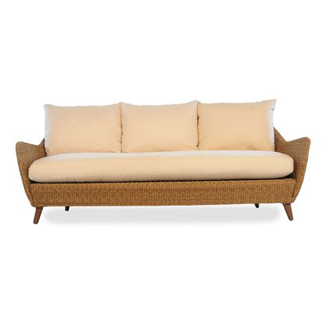 rattan sofa cushions replacements lloyd flanders tobago wicker sofa replacement cushion