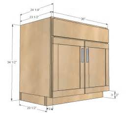 Standard Kitchen Cabinet Measurements by Kitchen Cabinet Sizes Afreakatheart