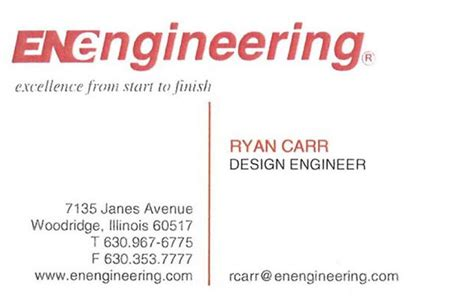 Msc On Business Card