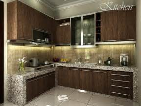 Kitchen Interior Decorating Ideas Contoh Design Kitchen Set Kami Zarissa Interior Design