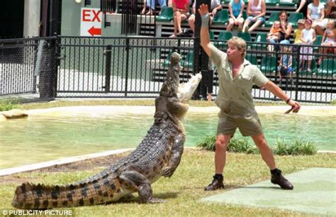 Steve Irwin Memorial Day At The Australia Zoo by Northern Territory Crocodile Wrestlers Get Snappy With