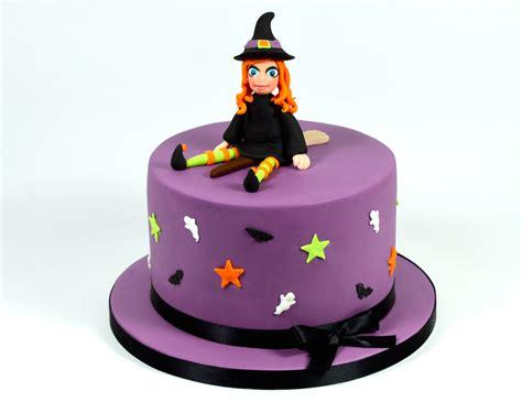 halloween witch novelty cake decorating fondant tutorial youtube