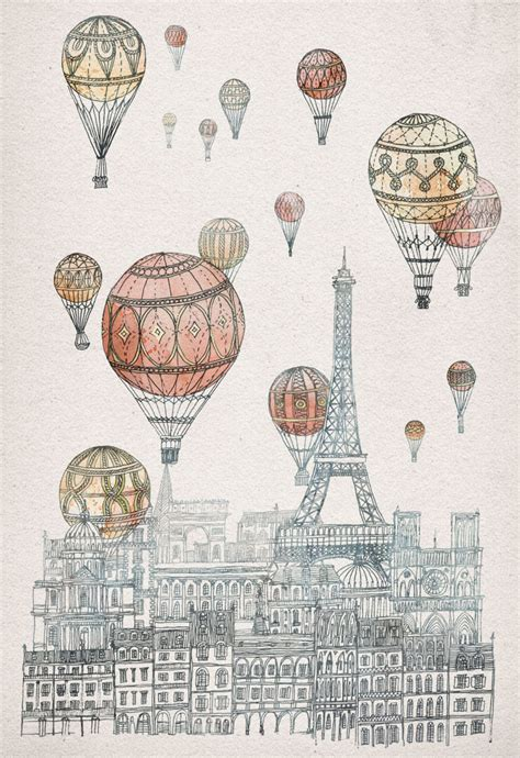 Fleck voyages over paris by fleck p s see an