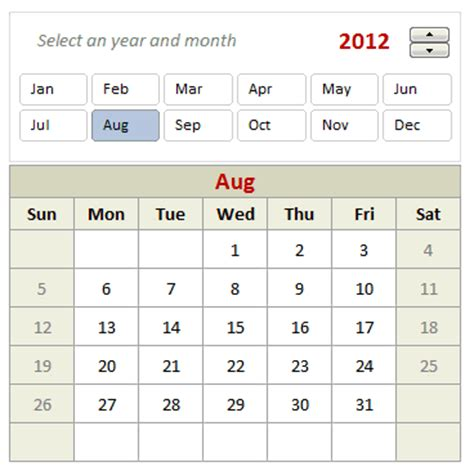 interactive excel calendar template all articles on calendar chandoo org learn microsoft
