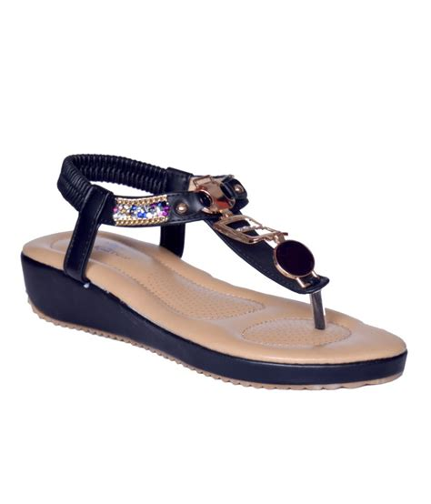 heels n wedges black sandals price in india buy heels n