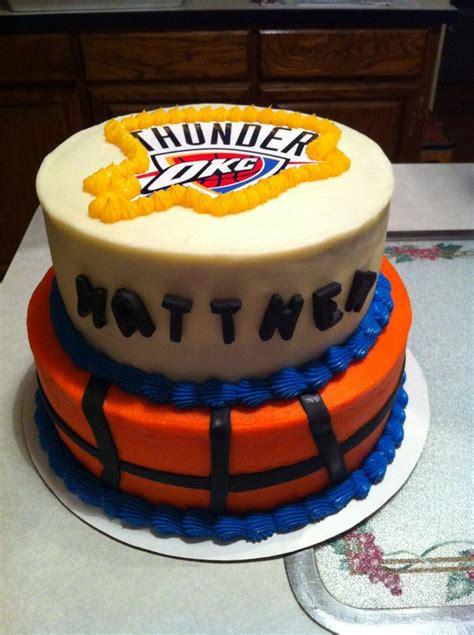 thunder cake 35 best okc thunder images on birthday
