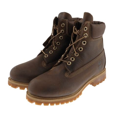 timberland premium original 6inch waterproof boots brown