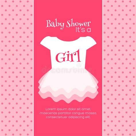templates for baby shower in vector from stock 25 eps baby shower invitation template stock illustration