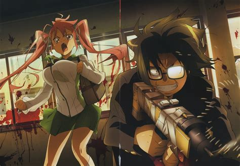 of the dead pictures highschool of the dead review lag kill