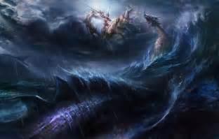 Sea monster wallpaper forwallpaper com