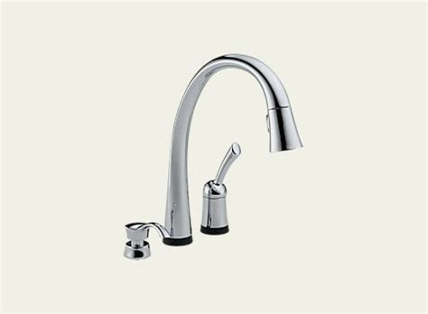 delta pilar single handle pull down kitchen faucet with delta pilar single handle pull down kitchen faucet with