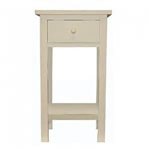 Bedside Table Amazon by Cream Single Drawer Bedside Table Amazon Co Uk Kitchen