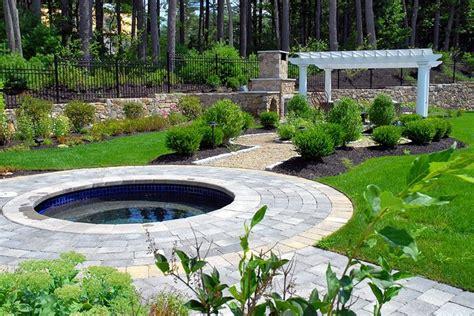 spa backyard designs backyard landscaping sudbury ma photo gallery