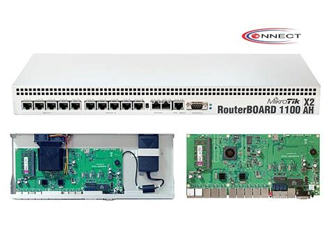Router Rb1100ahx2 connect media network mikrotik router rb1100ahx2 1u