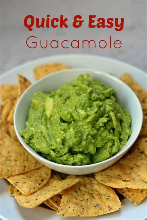 Lifestylefood A Delicous Guacamole Recipe by Easy Guacamole Recipe