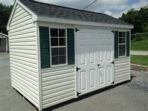 Plastic Shed For Sale by Sold 4185 8 215 12 Vinyl A Frame Storage Shed For Sale