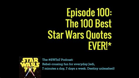 star wars quotes  swx youtube