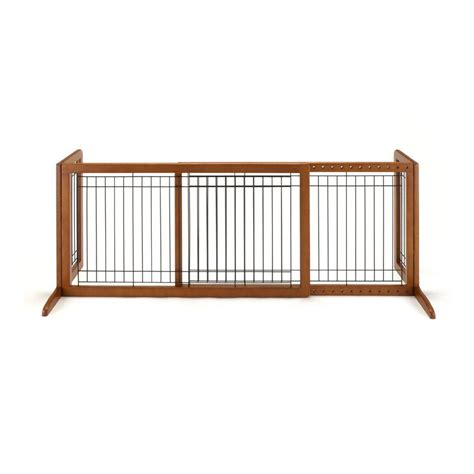 richell 20 1 in x 71 3 in large wood freestanding pet