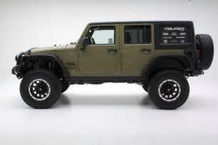 the green jeep unlimited rubicon w atx wheels and