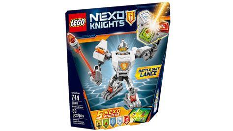 Dijamin Lego 70366 Nexo Knights Battle Suit Lance lego minifigures lego nexo knights battle suits 2017