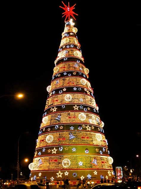 christmas trees in brazil 10 beautiful pictures of lights from around the world 1x57