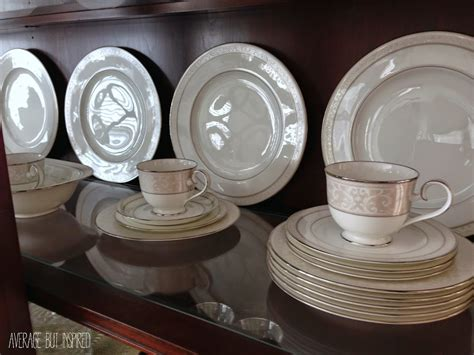 Kitchen Cabinet Spray Paint Tips On How To Arrange A China Cabinet Average But Inspired