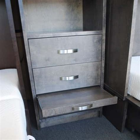 cabinet pull out bed park avenue cabinet bed piers feature a pull out nightstand