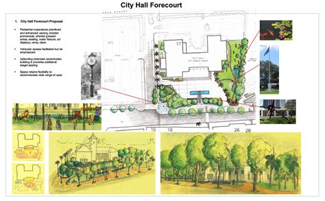design concept for city hall city plans new look for the front of city hall bernews