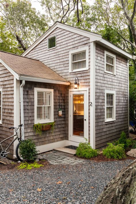 Small Homes Houzz Small Renovation Modern Provincetown Cottage