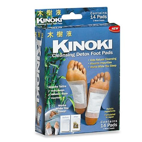 Kinoki Foot Detox Patches Ingredients by Kinoki Cleansing Foot Pads Bed Bath Beyond