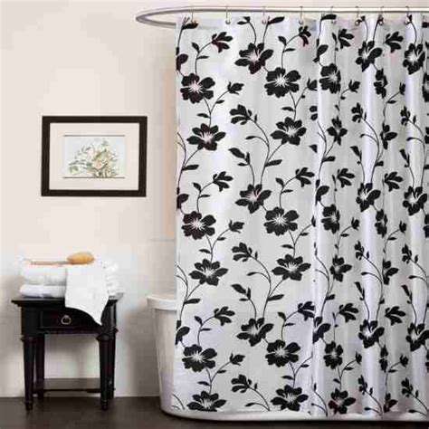 Black And White Shower Curtain Set black and white shower curtain set decor ideasdecor ideas