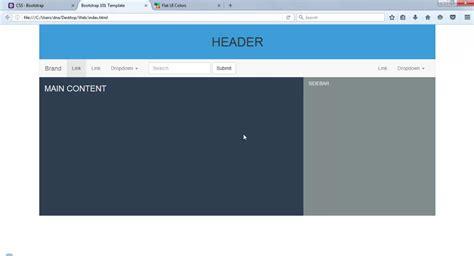 cara membuat header web html membuat tilan web responsive dengan bootstrap 3 3 7
