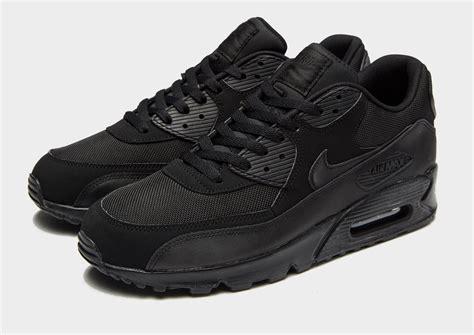 Nike Airmax 90 Black air max 90 black lanarkunitedfc co uk