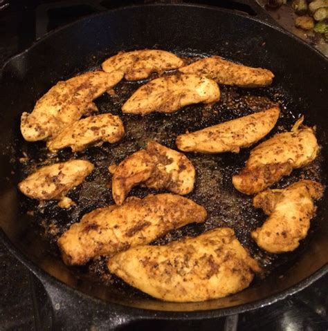 skillet blackened chicken tenders family savvy