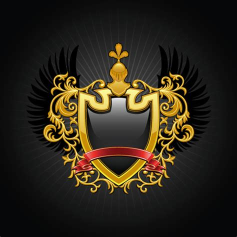 design free coat of arms luxury coat of arms design elements vector graphics free