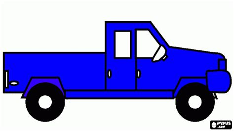 Blue Truck Printables